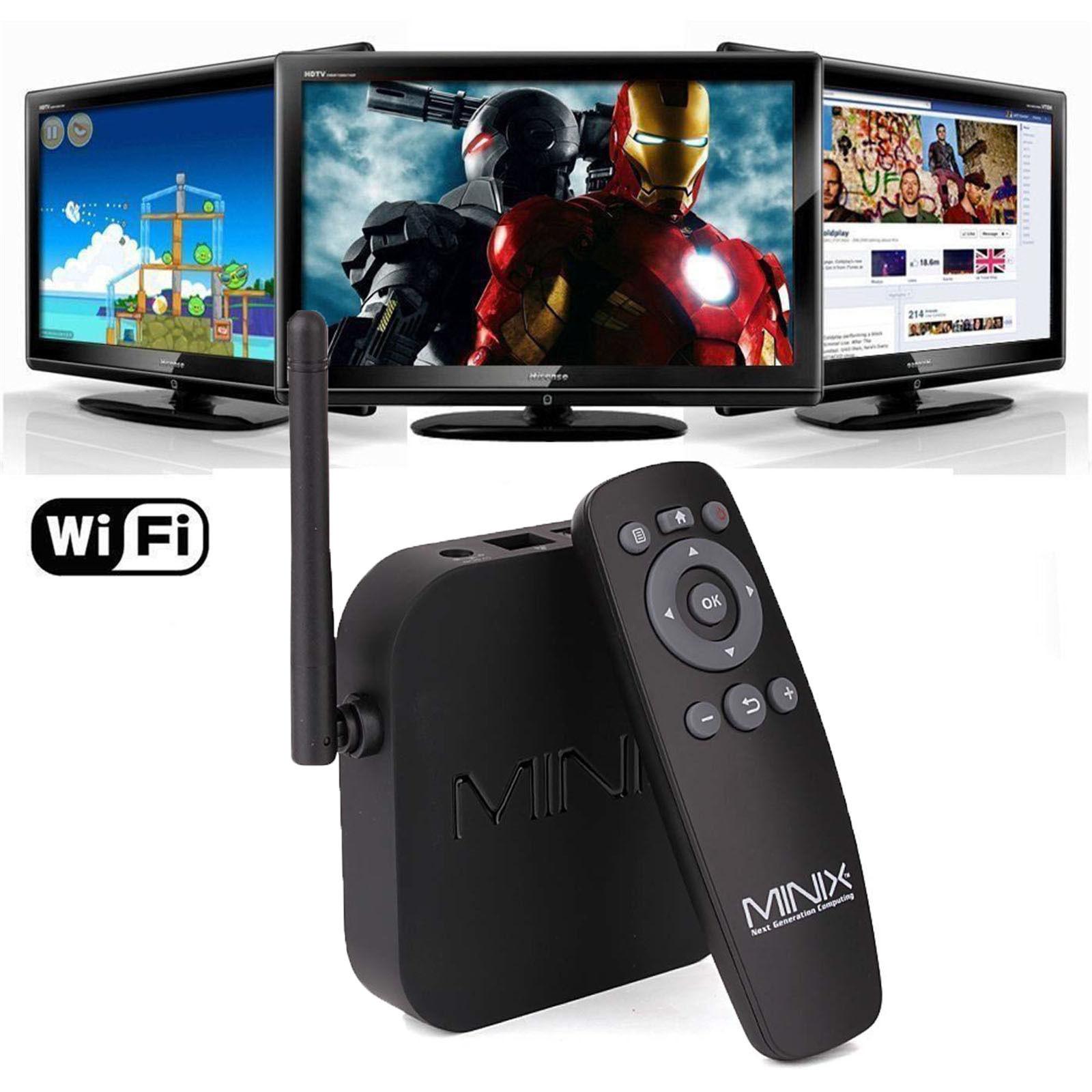 Minix Neo X7 Quad Core Tv Box Mini Pc With Wifi Hdmi Rj45 Bluetooth Ram Smart Ddr3 2gb